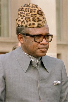 Joseph Désiré Mobutu