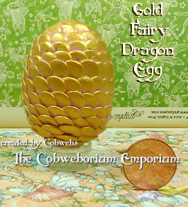 Gold Fairy Dragons Egg 1